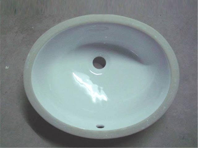 Ceramic Sinks Mexican Style Copper Sinks Oval Round Undermount Lavatories Bathroom Sinks