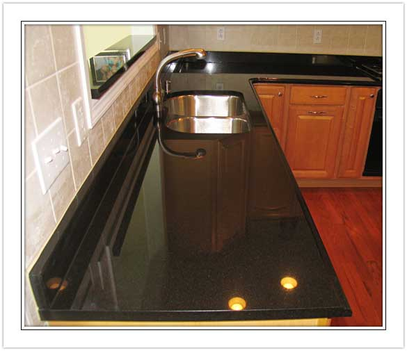Black Granite Countertops : Absolute Black,Absolute Black Granite China granite tiles ...