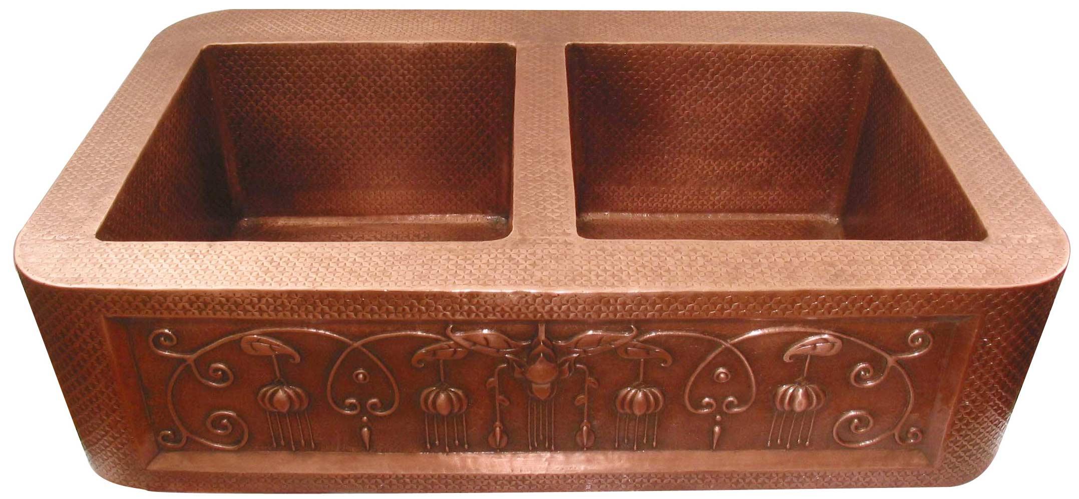copper sinks mexican style apron kitchen copper sinks bathroom copper